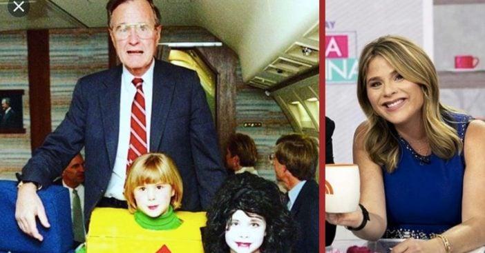 Jenna Bush Hager Shares Halloween Throwback Photo With George H.W. Bush & Sister Barbara