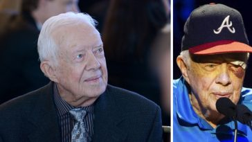 Jimmy Carter suffers black eye and stitches after fall at home