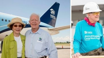 Jimmy Carter talks about being 95 years old and volunteering for Habitat for Humanity