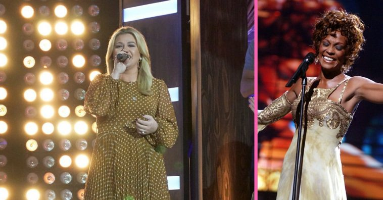 Kelly Clarkson covers one of Whitney Houstons most popular songs