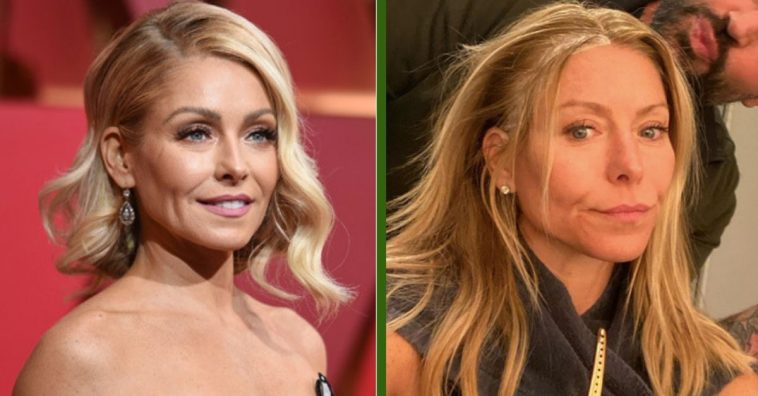 Kelly Ripa Proudly Shares Makeup-Free Selfie On Instagram