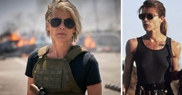 Linda Hamilton talks about getting in shape to play Sarah Connor again in the new Terminator movie