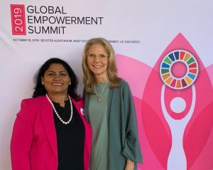 Lindsay Wagner at the 2019 Global Empowerment Summit