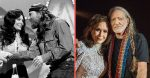Loretta Lynn and Willie Nelson sing a duet of Lay Me Down