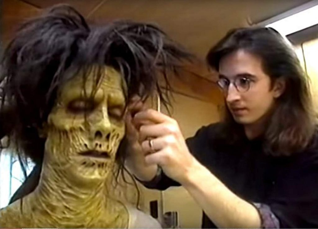 Make-up being done from the film 'Hocus Pocus'.