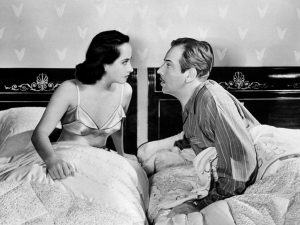 Merle Oberon and Melvin Douglas in 'That Uncertain Feeling'