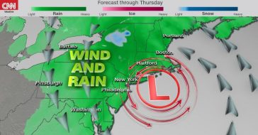 More Than 60 Million Americans Facing Powerful Impacts Of Nor'easter