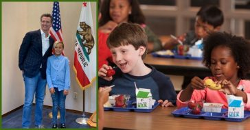 New California Law Guarantees All Students Will Get A Meal At Lunchtime