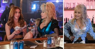 New photos from Dolly Partons upcoming Netflix show Heartstrings
