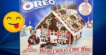 Oreo unveils a new gingerbread house for the holidays