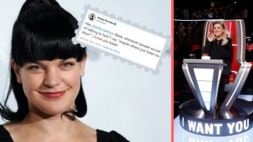 Pauley Perrette defended Kelly Clarkson after critics say she talks too much