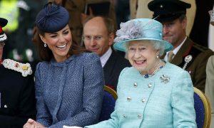 Queen Elizabeth and Duchess Meghan
