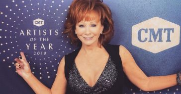 Reba McEntire received a CMT Artist of a Lifetime Award