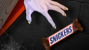 Snickers gave away one million candy bars for Halloween