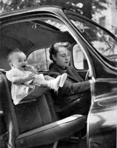 Some methods of seating a child passenger don't even look possible