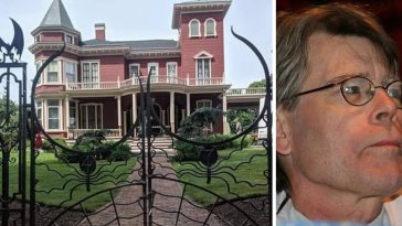 Stephen King is moving from his iconic home in Maine