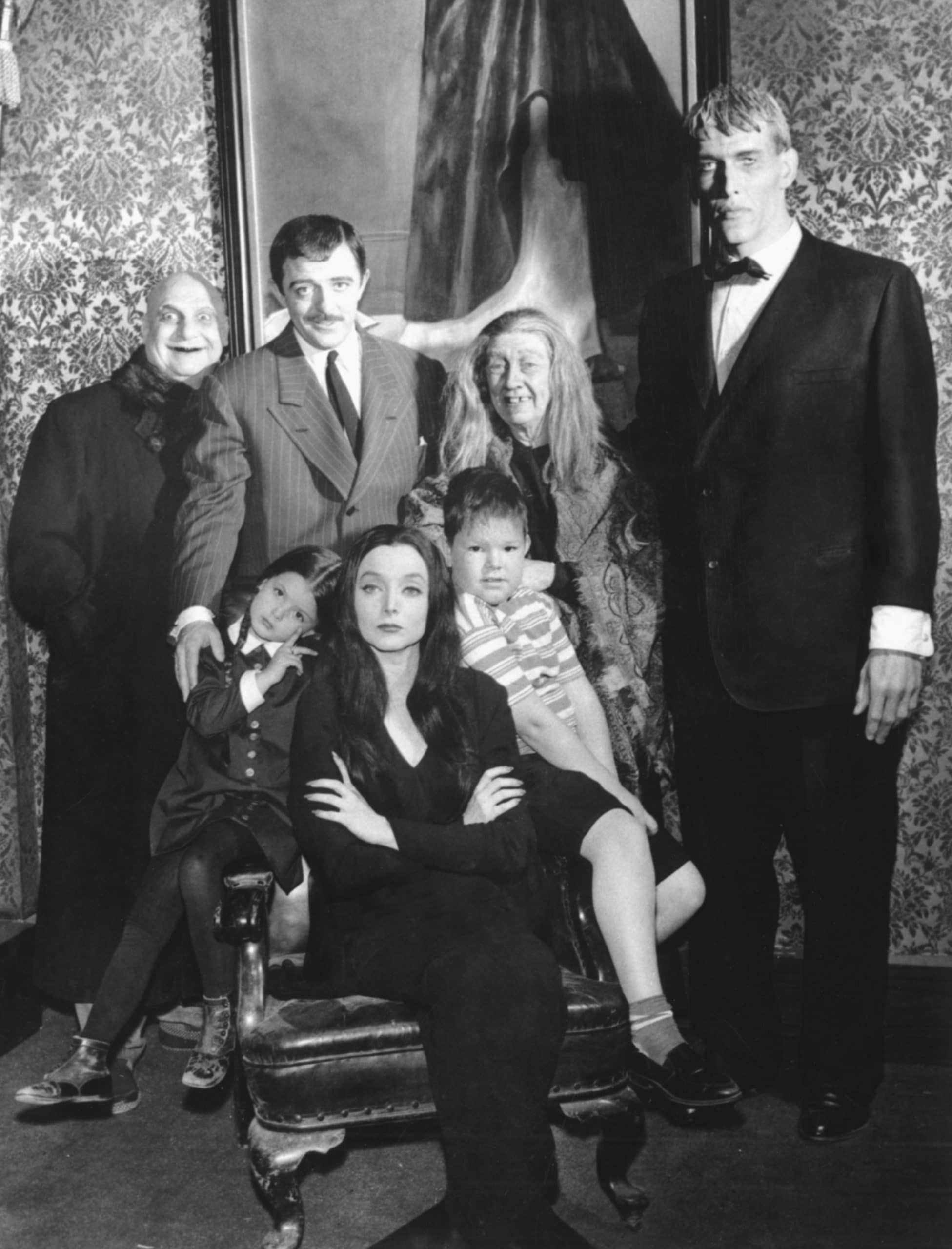 the addams family cast then and now
