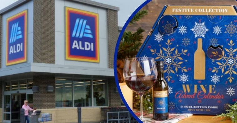 The Wine Advent Calendar From Aldi's Is Back For The Holiday Season