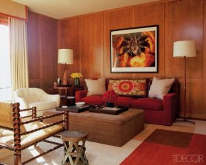 The average American home could be expected to have a lot of wood paneling