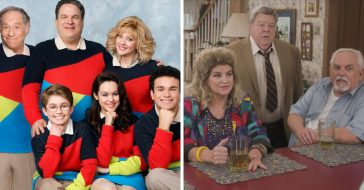 The cast of Cheers reunites on The Goldbergs on ABC
