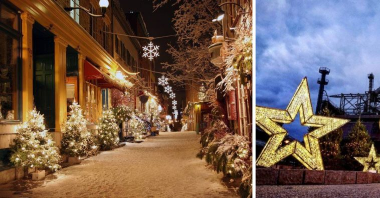 The town of Bethlehem Pennsylvania is called one of the most festive Christmas towns in the country