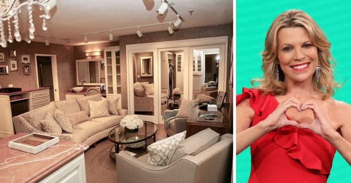 Vanna White shares a tour of her Wheel of Fortune dressing room