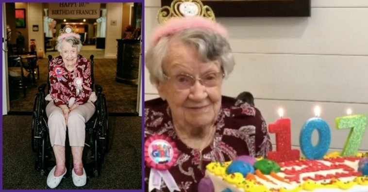 Woman Celebrates 107th Birthday And Says Secret To Long Life Is Drinking Coca-Cola Every Day