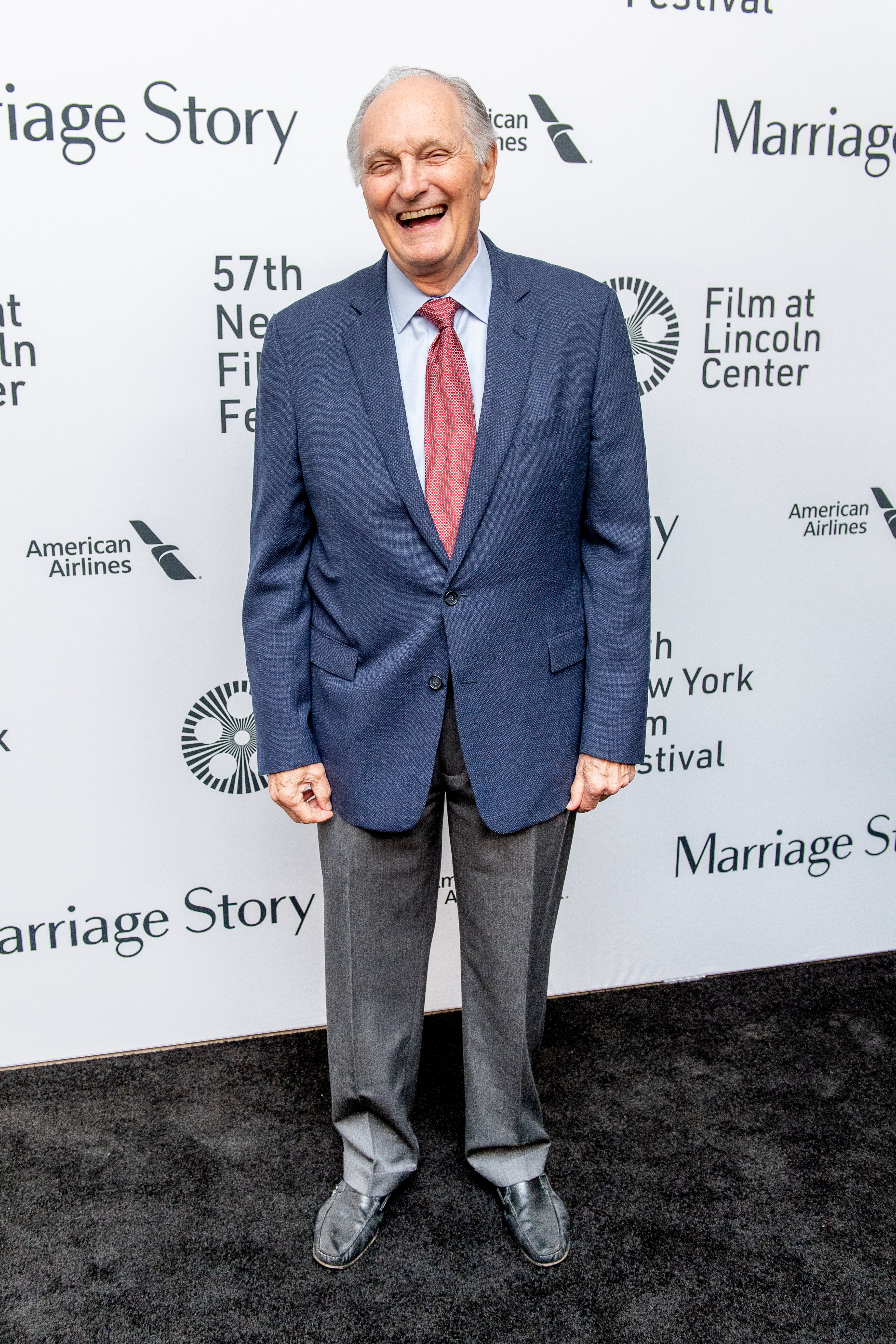 alan alda marriage story premiere laughing