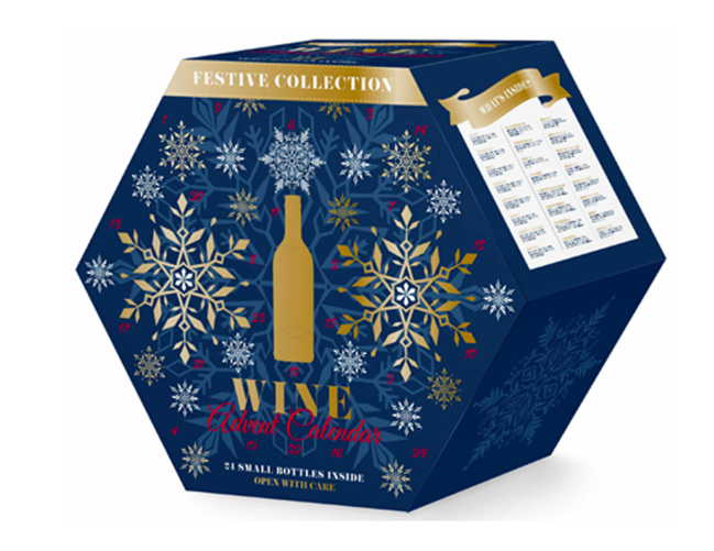 aldi's wine advent calendar back for the holidays