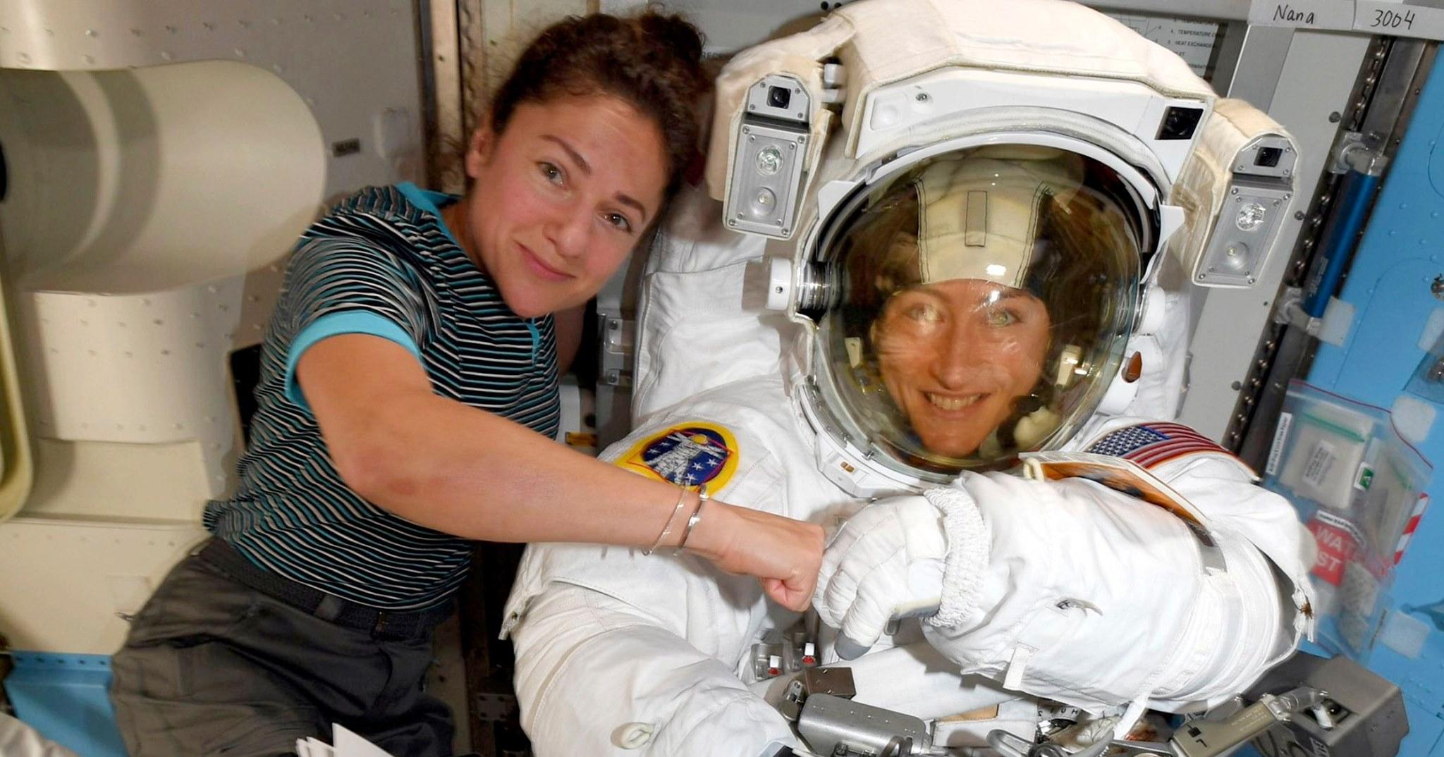 first all female spacewalk
