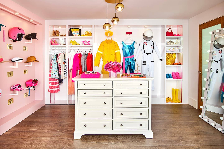 barbie dream closet airbnb