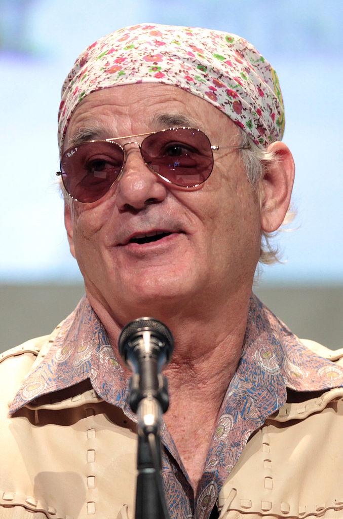 bill murray speaking