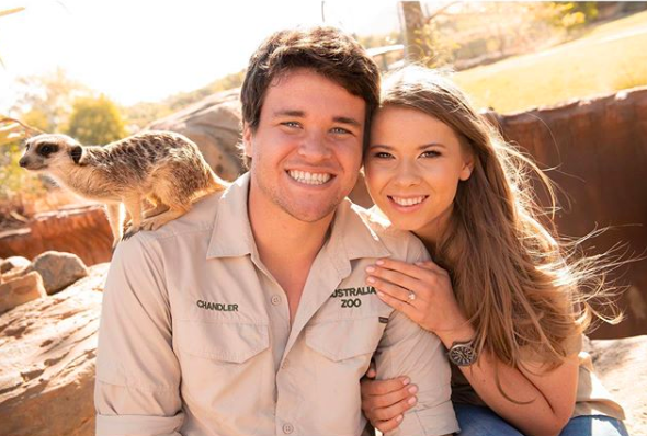 bindi irwin says yes to the dress