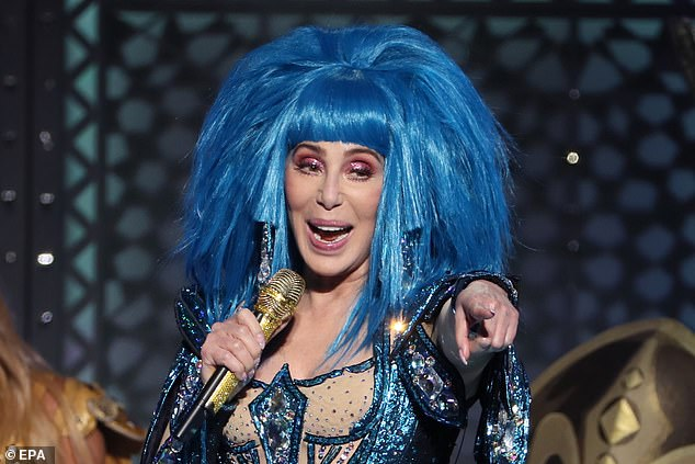 Cher In Berlin Rushes Stage To Show Off Her Lean Form and Bold Attitude