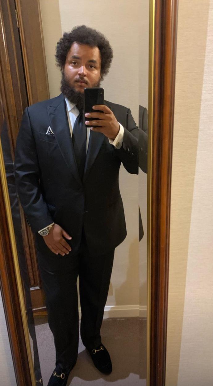 connor cruise suit