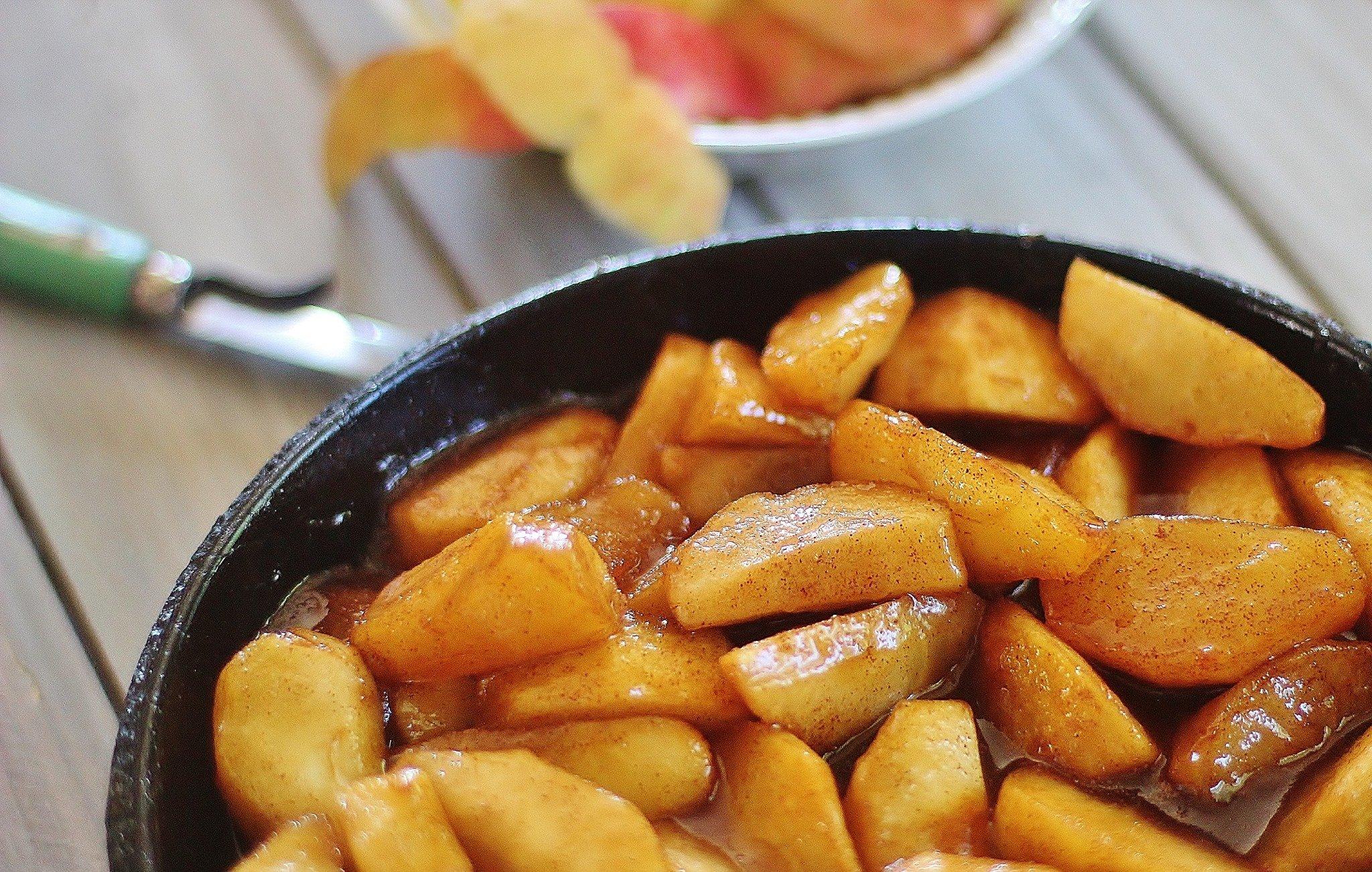 fried apples recipe