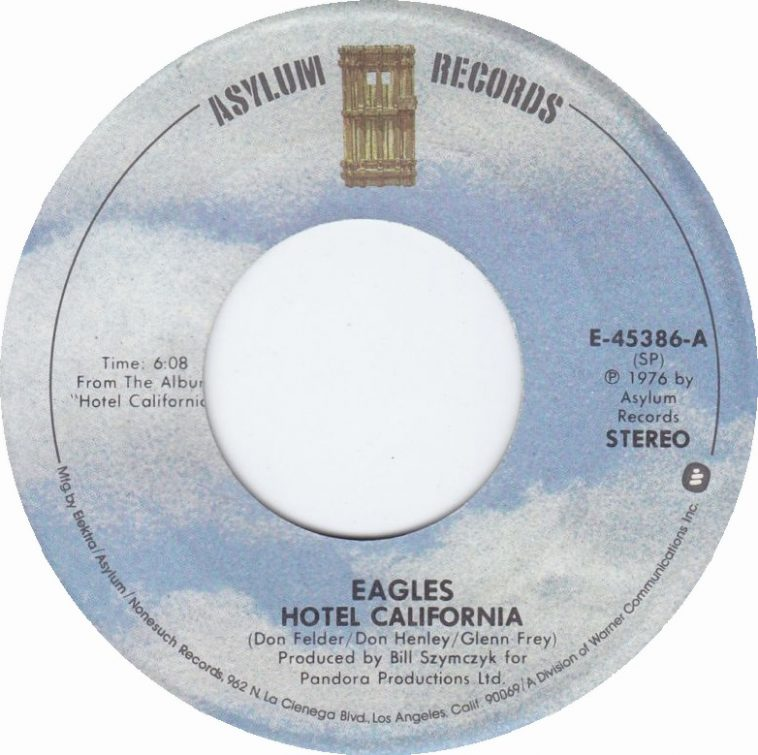 eagles will perform hotel california in 2020 tour