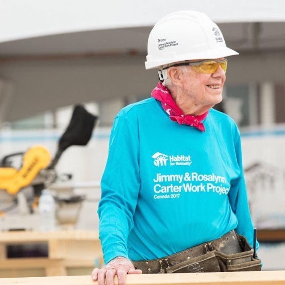 jimmy carter habitat for humanity carter work project
