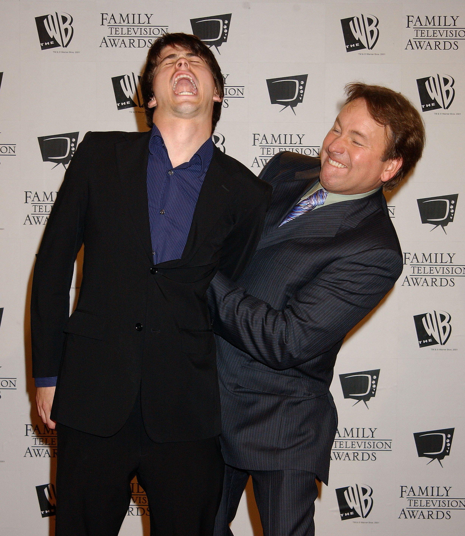 john and jason ritter goofing around