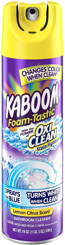 kaboom bathroom cleaner