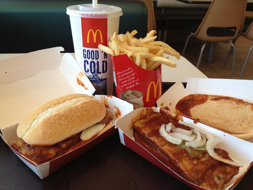 mcrib meals mcdonalds