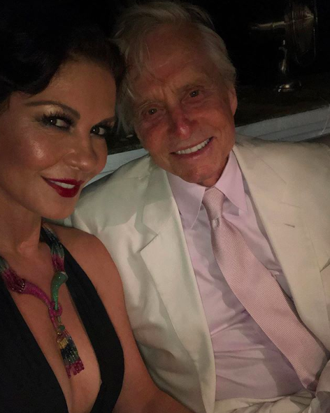 michael douglas talks about age gap with wife