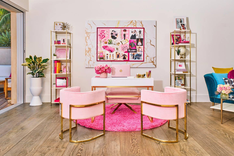 barbie desk office area