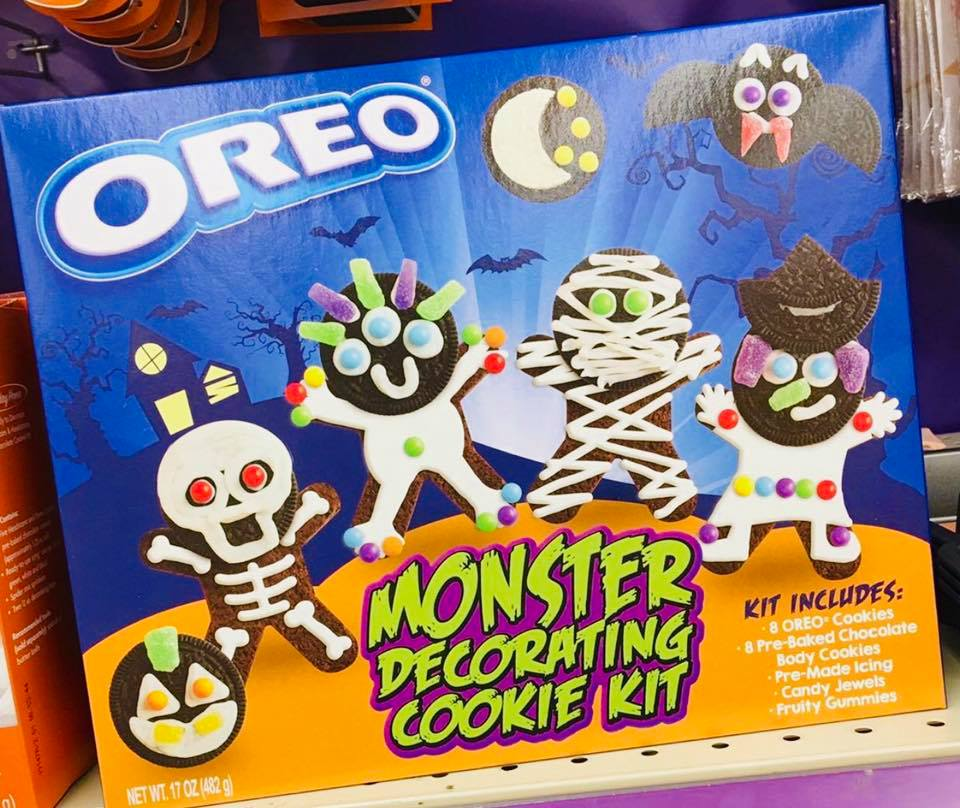 oreo monster decorating cookie kit