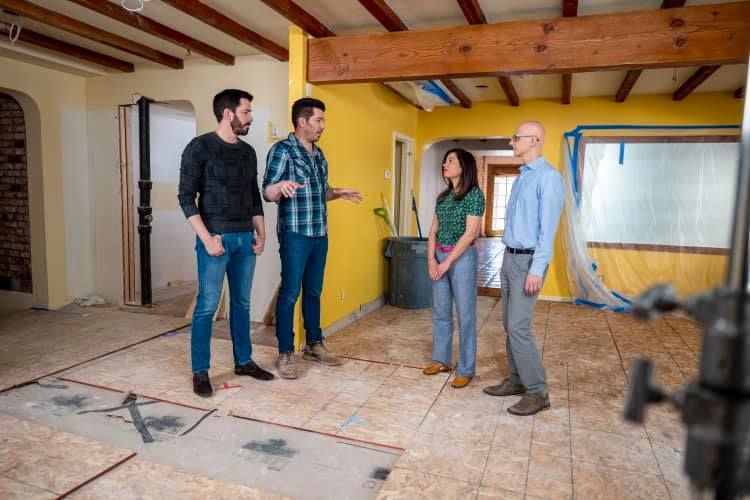 the property brothers working
