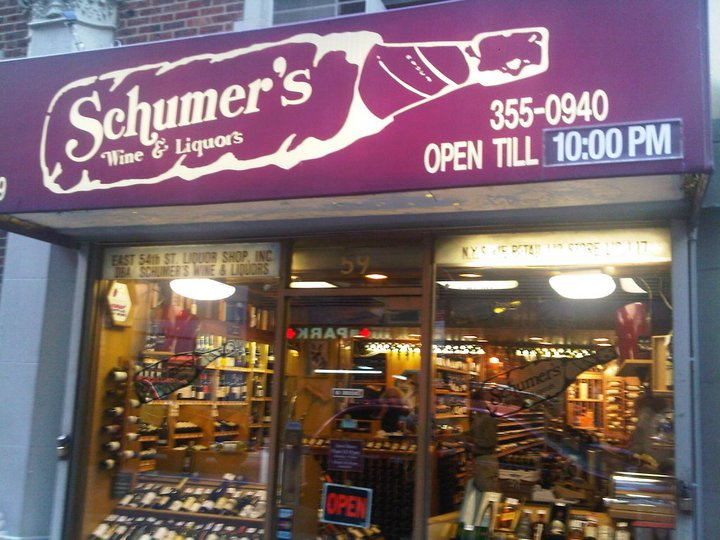 schumer's liquor