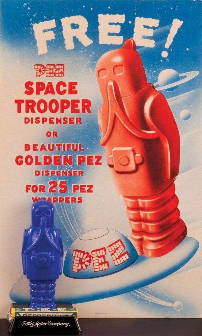 space trooper pez dispenser