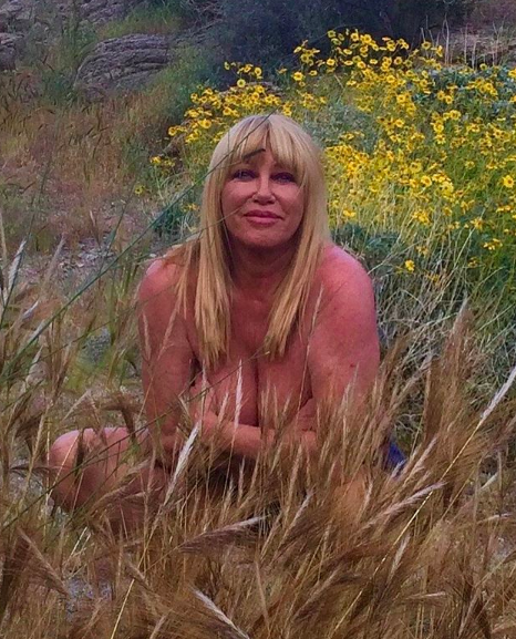 suzanne somers nude photo responds to hate