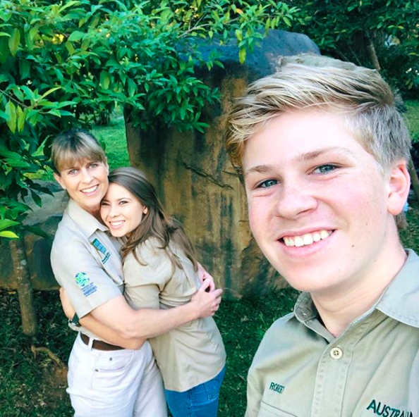 the irwins carry on steve irwin's legacy