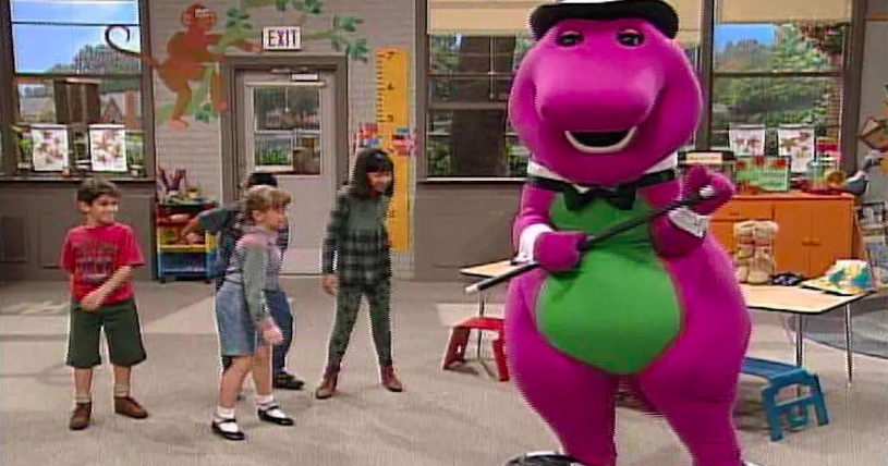 the dark reason barney was canceled